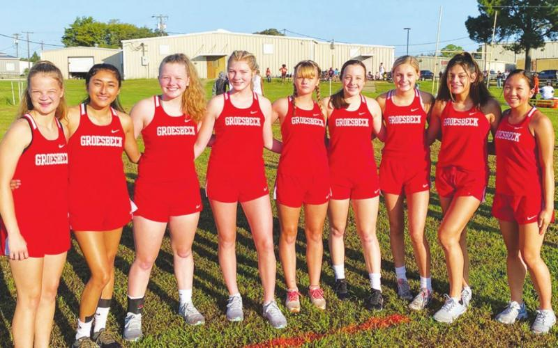 Cross Country medals at Teague Invitational