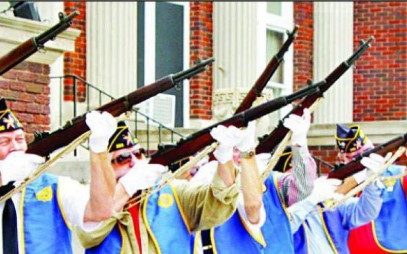 Information wanted on theft of ceremonial rifles