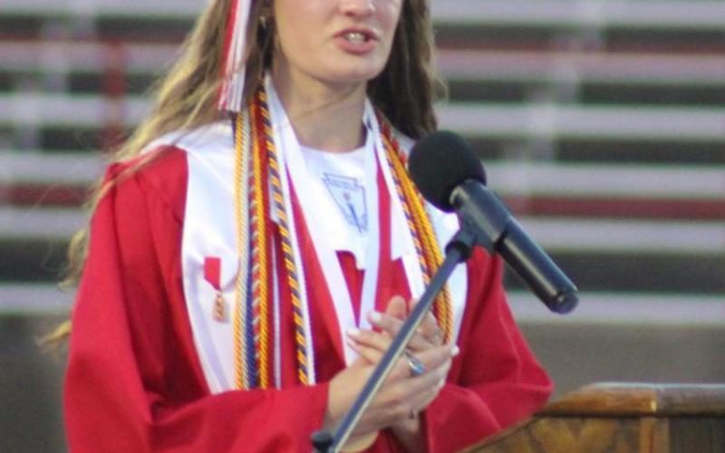 Groesbeck holds graduation last week Menzel and Tyus gain top honors