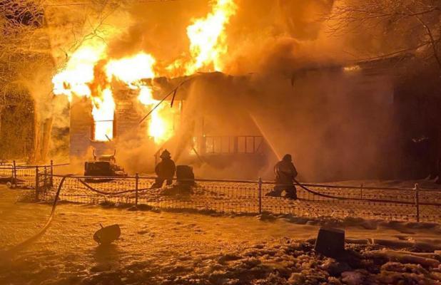 Historic Kosse home burns to ground