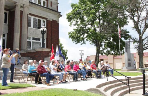 Memorial Day celebrated with annual ceremony in Groesbeck