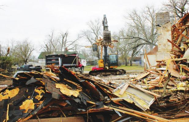 House demolished to keep safe, clean community