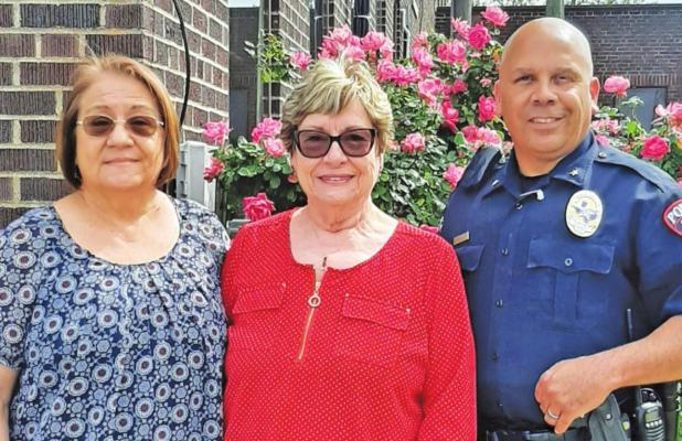 City of Groesbeck says goodbye to Stanton and Freel City Admin Assistants reach retirement