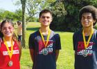 Three cross country runners bring home medals from Hubbard Invitational