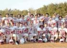 Groesbeck 7th Grade Football undefeated district champs