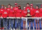 Goat Tennis team makes 29th trip to state