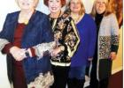"""The Groesbeck Women's Club study group gathered Tuesday, Jan. 21, for food, fellowship and fun. The hostesses for the evening included Martha Longbotham, Shirley Richardson, Wanda Bush and Karmen Hoffpauir. The group decorated the space with a """"Snowma"""