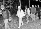 Midnight Hikers welcome new year in the woods