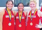 Lady Goat runners win Buffalo Cross Country Meet