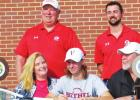 Groesbeck's Henley overcomes serious car crash, signs to play tennis at Bethel College in Kansas