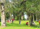Fort Parker Memorial Park thanks the Young Marines
