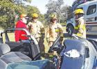 West Lake Limestone VFD practices extrication tools